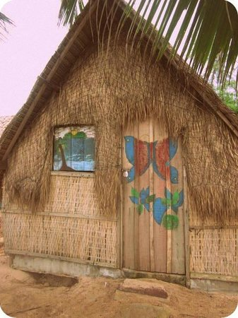 Everythang: One of the lovely huts