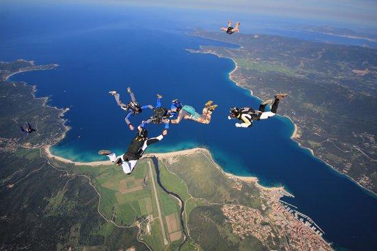 parachutisme propriano