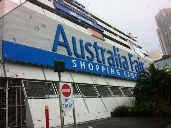 Australia Fair Shopping Centre: front side
