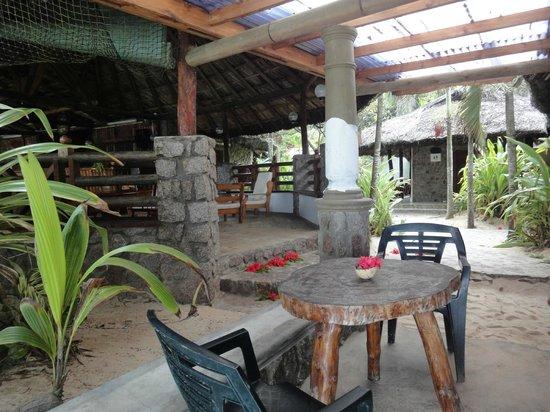 Chez Batista Villas Rustic Restaurant:                   Terrasse