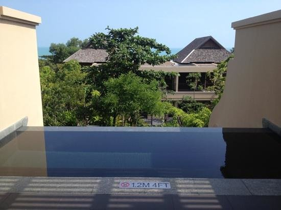 Vana Belle, A Luxury Collection Resort, Koh Samui:                   private pool