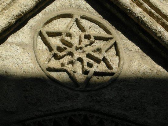 Centro de Interpretacion Juderia de Sevilla : Estrella de David