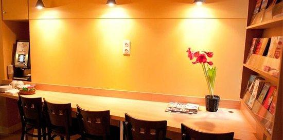 Hotel de Reims: Espace café