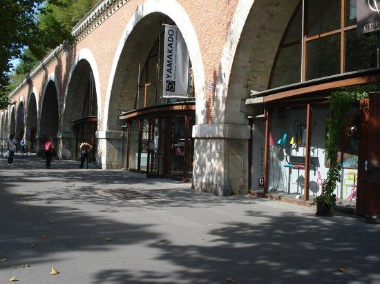 Hotel de Reims: Viaduc des Arts