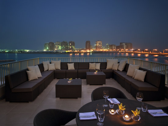 Grand Hyatt Doha Hotel & Villas: Residence Roof Top