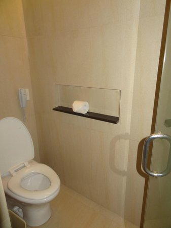 The District Boracay :                                     toilet stall