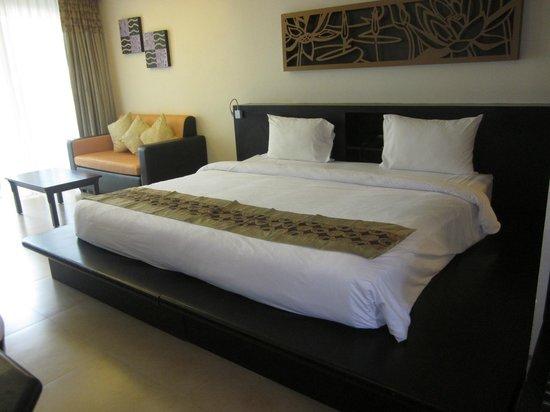 Anyavee Tubkaek Beach Resort:                   Great double bed