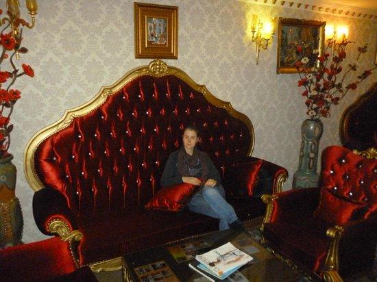 Salinas Istanbul Hotel:                   Холл отеля