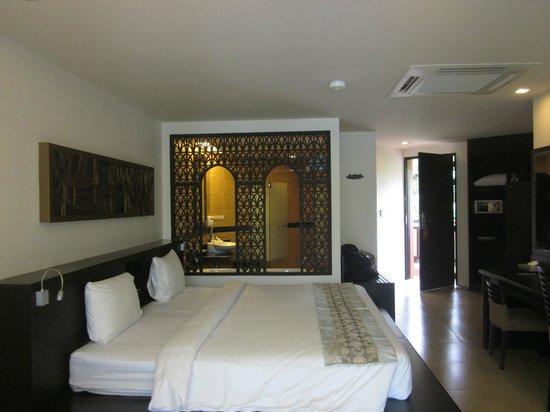 Anyavee Tubkaek Beach Resort:                   View of the room