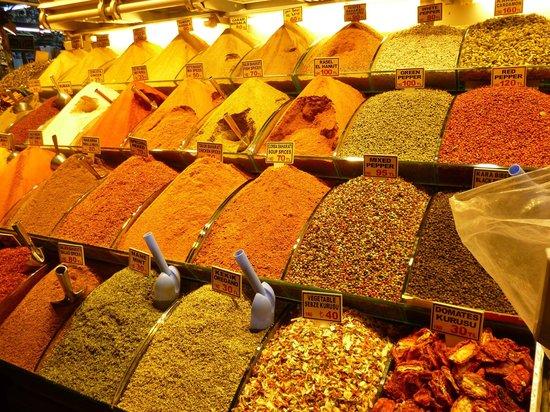 Salinas Istanbul Hotel:                   Базар специй или Египетский базар