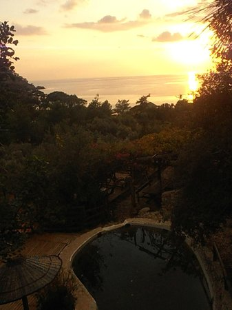Kabak Natural Life:                   Scenery of the room I stayed