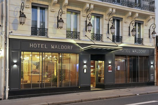 Hotel waldorf montparnasse paris france updated 2016 for Hotels quartier montparnasse