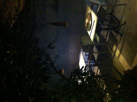 La Magrana Cafe-Bistro: Terraza