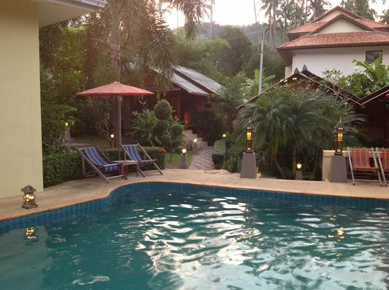 Baan Sukreep - Zen Garden Cottages:                   la piscine