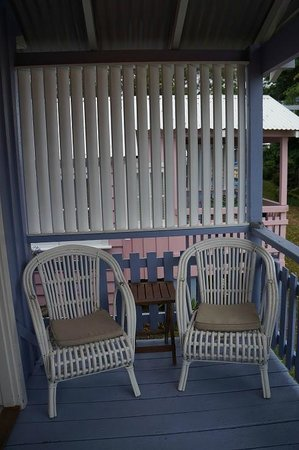 Hyams Beach Seaside Cottages: Porch