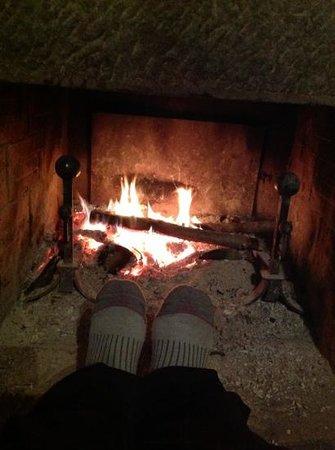 Agriturismo Santa Maria:                                     my feet & my fire!