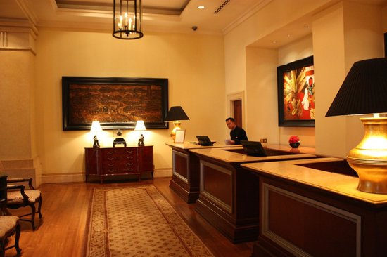 Park Hyatt Saigon: Reception