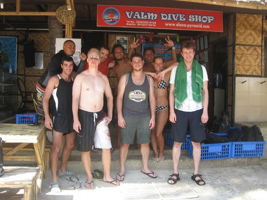 Valm: another bunch of happy divers