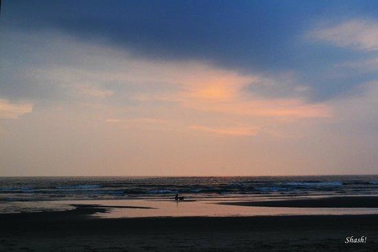 Sunset at Mandrem beach