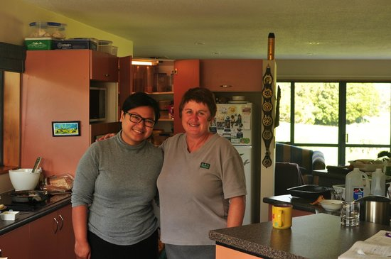 Clearwater Bed and Breakfast:                   My wife and Jasinda