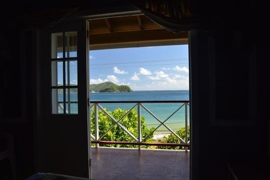 The Speyside Inn:                                     A room with a view, Speyside Inn, Tobago
