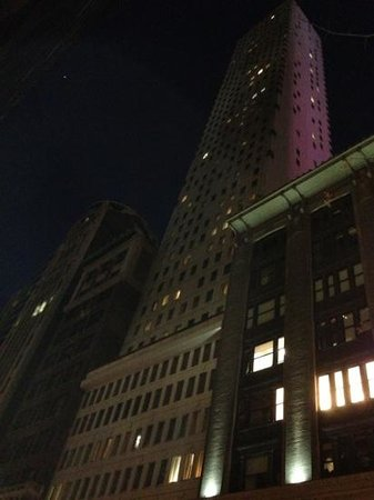 Cassa Hotel 45th Street New York :                                     cassa at night
