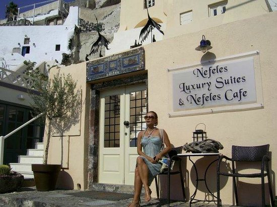 Nefeles Suites Hotel: Main Entrance