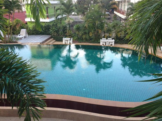 Casa Del M, Patong Beach:                                     tiles missing in the pool