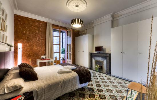 Quadrat d'Or: Habitación Gaudí