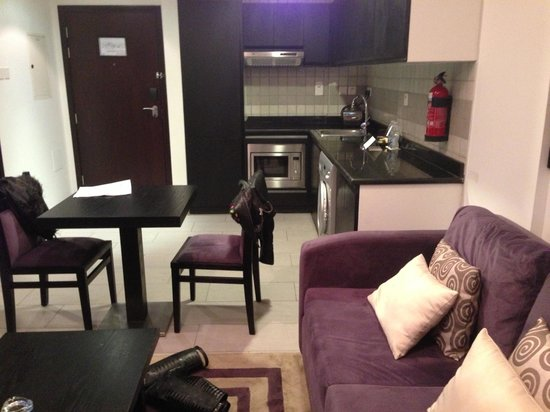 Auris Metro Central Hotel Apartments:                   Lounge