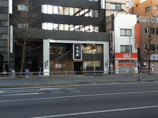 Nihon Kaita machi ten:                   外観