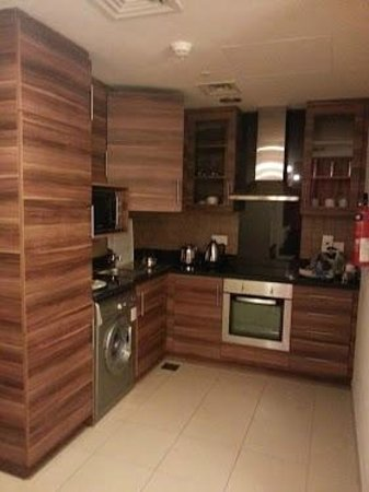 Dunes Hotel Apartments Oud Metha:                                                                                           Kitche