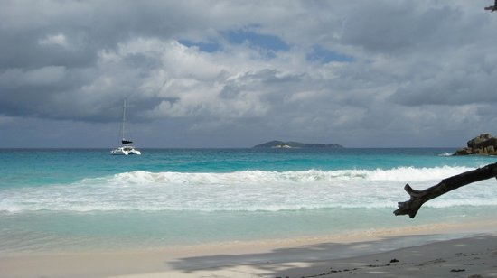 Anse Georgette:                   Lovely beach