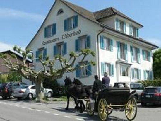 Maennedorf, Schweiz:                   Restaurant Widenbad