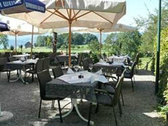 Maennedorf, Schweiz:                   Moderne Gartenwirtschaft