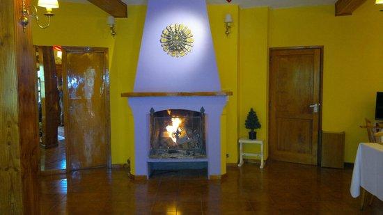 La Posada de la Flor:                   Nuestro cálido salón