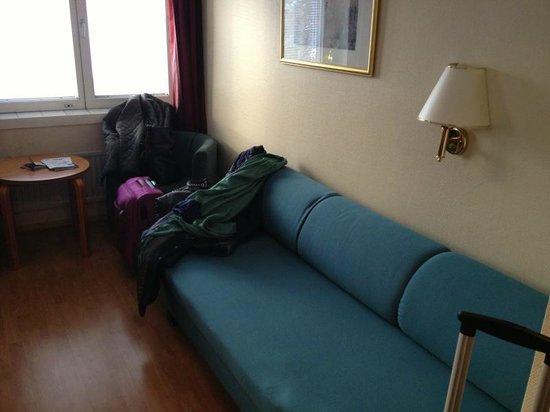 Finlandia Park Hotel Helsinki :                                     Sofa Bed