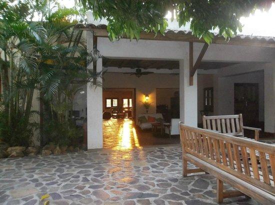 Hotel Casa de Campo Pedasi:                                                       Sunrise from the patio.                 