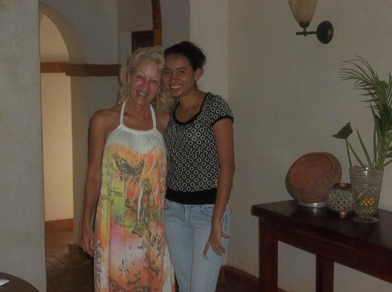 Hotel Casa de Campo Pedasi:                                                       Me and Dallis! Great girl!
