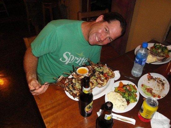 Kristen Cahill & Carlos Alfaro:                   Lobster!