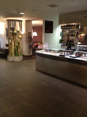 Park Hotel Amsterdam:                   lobby and chocolate shop
