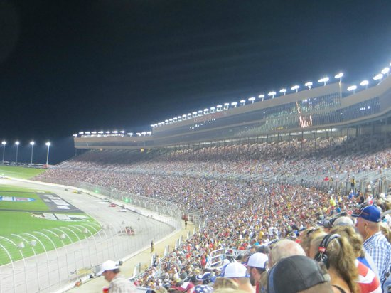 Atlanta Motor Speedway: Part of the huge crowd there