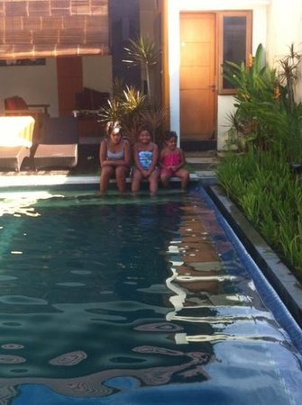 Bali Swiss Villa:                   we love this Villa we booked again for March