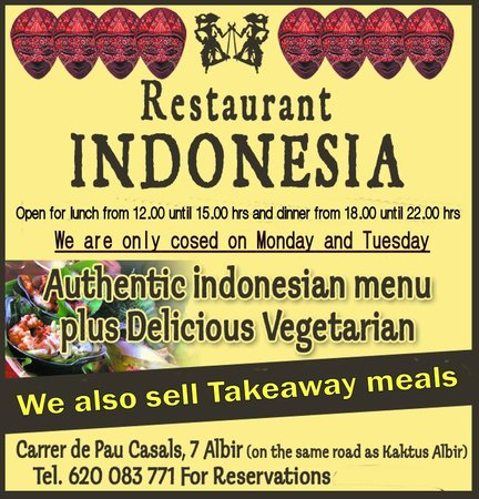 Restaurante Indonesia: This is what we offer to you