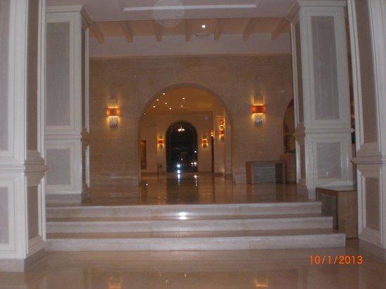 Hotel Marhaba:                   Reception area