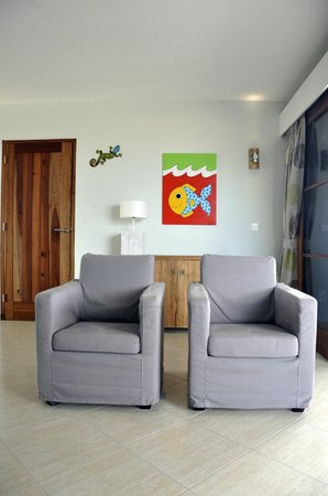 Kunuku Aqua Resort : Livingroom