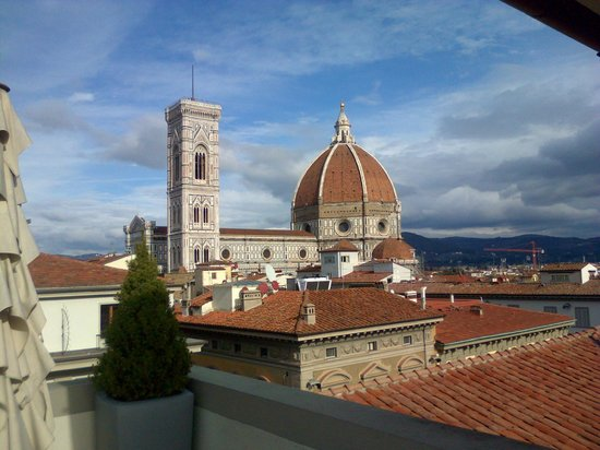 view from the roof of La Rinascente - Picture of Caffe\' La ...