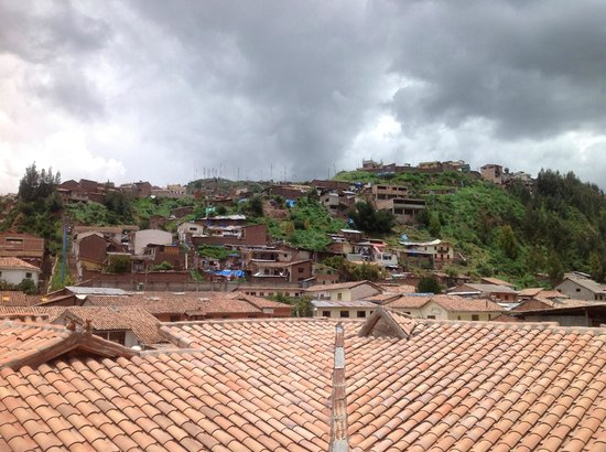 Tierra Viva Cusco Saphi:                   View from room