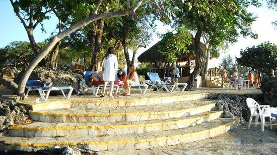 Casa Marina Beach & Reef: coin de détente