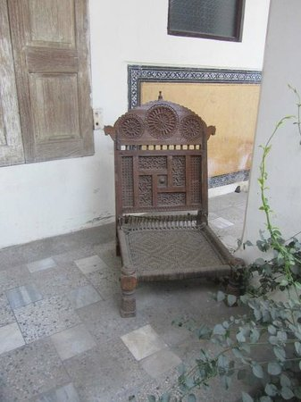 Naila Bagh Palace:                   Antique furniture establishes character of the heritage hotel